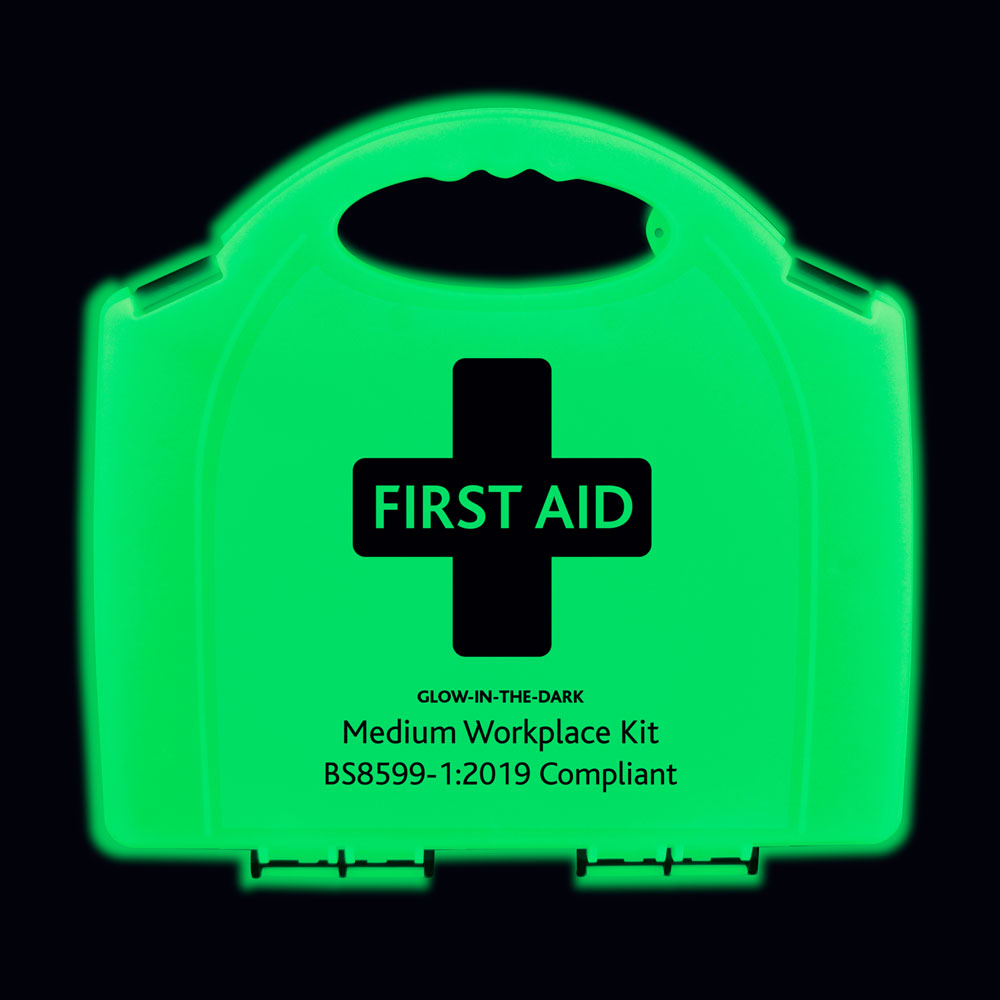 Reliance Medical glow in the dark first aid kits