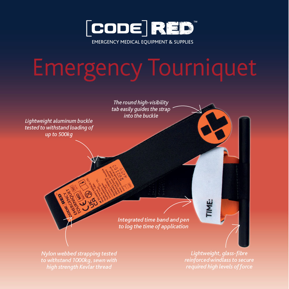 Reliance Medical Code Red Emergency Tourniquet