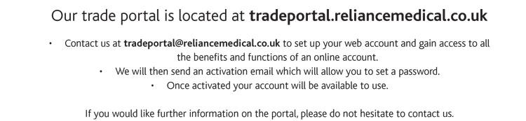 Reliance Medical Trade Portal